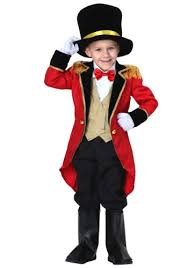 Lion Tamer Halloween Costume Wear Toddler Ringmaster Costume Circus