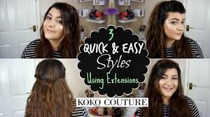 kylie hair couture extensions reviews kylie hair extensions 3 ways for think hair koko couture