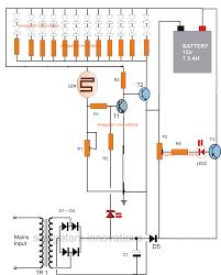 component led light diagram emergency lights powerful cheap volt