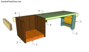 double dog house plans free outdoor plans d