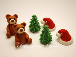 Christmas Cake Decoration Ideas Uk Seasonal Cake Toppers Prepared With Love