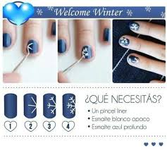 nail designs diy christmas snowflake beauty pinterest diy