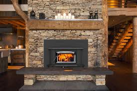 fireplace with wood burner room design decor excellent to