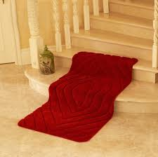 Red Bath Rug Online Buy Wholesale Red Bathroom Rugs From China Red Bathroom