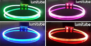 dog collar lights waterproof lumitube led lights dog safety collar waterproof tube