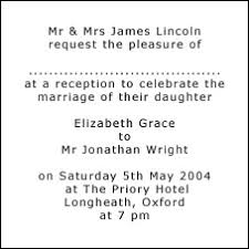 reception invitation wording invitation wording for reception only sles
