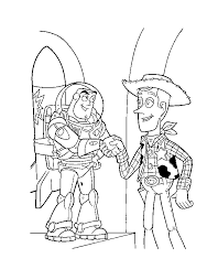 pics woody toy story kids coloring