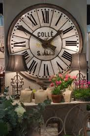 Decorative Wall Clocks Australia Large French Enamelled Clock Face Christopher Hall Antiques