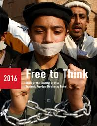 free to think 2016 scholars at risk