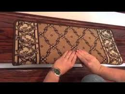 installing bullnose carpet stair treads by dean flooring company