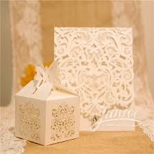 wedding favor boxes wholesale cut wedding invites for wholesale