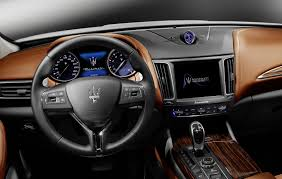 maserati models interior new maserati levante suv detailed in geneva just as production