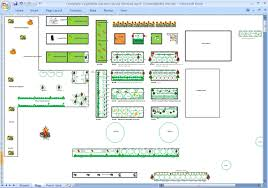Fruit And Vegetable Garden Layout Gardendesk Garden Planning On Paper Or With An Excel Spreadsheet