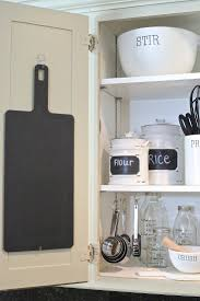creative kitchen organizing