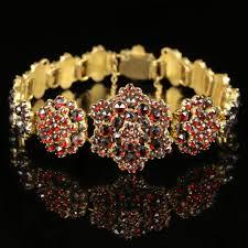 antique garnet bracelet images Antique victorian garnet bracelet circa 1880 bohemian garnets c jpg