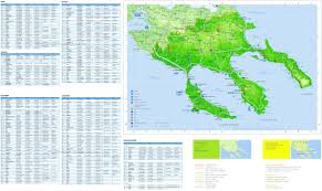 halkidiki hotels and sightseeings map