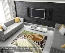 accent rugs breaking conventional style of interior decoration