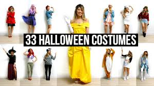 top 10 halloween costumes for girls 33 last minute diy halloween costumes ideas youtube