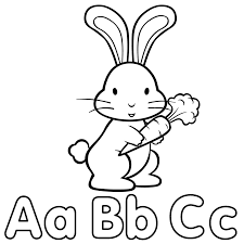 alphabets get coloring pages