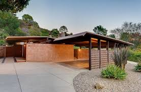 Modern Carport 8973 Wonderland Park Avenue In Hollywood Hills By Philip Kimmelman
