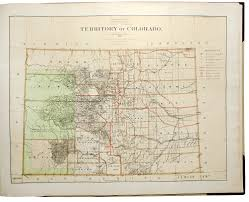 Colorado Public Land Map by Department Of The Interior General Land Office Geographical And