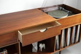 Lp Record Cabinet Furniture Vintage Swedish Teak Record Cabinet Via Etsy I U0027m Very Into This