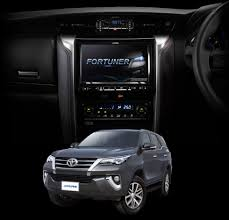 fortuner new toyota fortuner 2015 alpine electronics of asia pacific