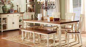 furniture kitchen table set hillside cottage white 5 pc dining room dining room sets colors