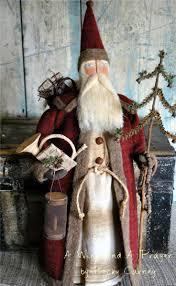 10 best santa images on pinterest primitive santa father
