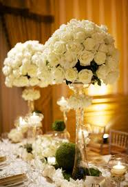 Elegant Wedding Centerpieces Wedding Decoration Adorable Design Ideas Using White Flowers And