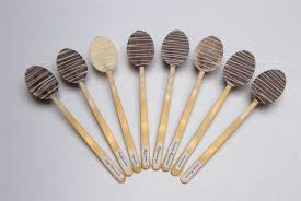 chocolate dipped spoons wholesale flavoured chocolate spoons