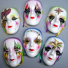 ceramic mardi gras masks 6 ceramic mask louisiana gifts gallery inc