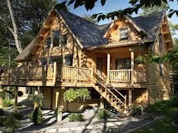 Log Cabin With Loft Floor Plans Sebec Log Cabin Floor Plan By Katahdin Cedar Log Homes