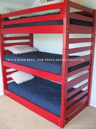 The  Best Triple Bunk Bed Ikea Ideas On Pinterest Triple Bunk - Triple bunk beds with mattress