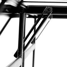 foldable platform bed malouf highrise folding metal bed frame 14 inch high bi fold