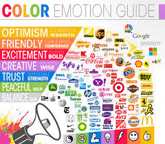 logos a look at the meaning in colors daily infographic