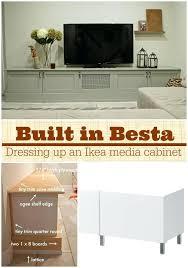 Besta Floating Media Cabinet Media Center Ikea Hack Stockholm Media Center Ikea A Lovely Mid