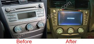 toyota camry 2007 audio system android os navigation radio player for toyota camry 2006 2011