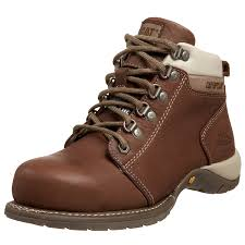 womens work boots amazon com caterpillar s carlie steel toe work boot shoes