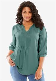plus size tops shirts blouses for within