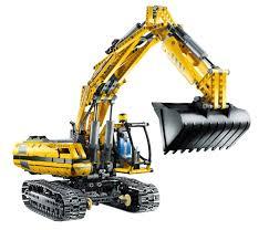 lego technic 8043 lego power functions motorized excavator