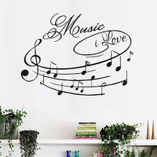 music note character promotion shop for promotional music note music i love wall stickers musical note diy vinyl home decor for nursery kids rooms art design wall decals for kids gifts