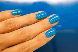 easy nail art design using water based nail polish water based