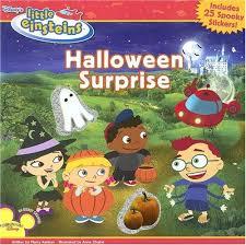 disney u0027s einsteins halloween surprise amazon books