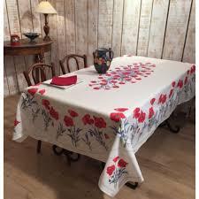nappe en coton enduit nappes provençales en coton enduit linges de table par frenchictoyou