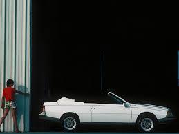 1982 renault fuego renault fuego cabriolet la proposition d u0027heuliez boitier rouge