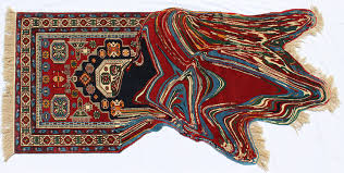 Rug Art Traditional Rugs Recreated With Technological Glitches By Faig Ahmed