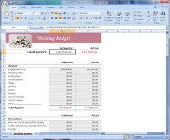 Budget Spreadsheets by Wedding Budget Excel Template Thebridgesummit Co