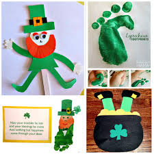 leprechaun crafts for kids to make on st patty u0027s day crafty morning