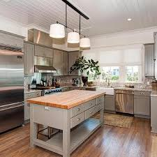 kitchen island butchers block freestanding grey kitchen island design ideas freestanding butchers